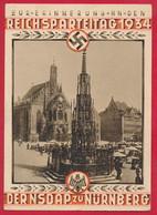 D. Reich - Propagandakarte ~ 1934 - Briefe U. Dokumente