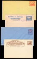 NICARAGUA. C.1905-10. 4 Diff Mint Scarce / Ovptd Stat Cards. VF. - Nicaragua
