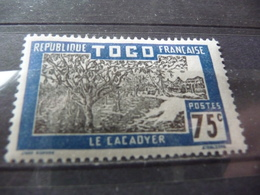 TIMBRE  TOGO   N  139      COTE  0,75  EUROS   NEUF  SANS  CHARNIÈRE - Togo (1914-1960)