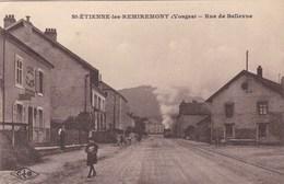 SAINT ETIENNE LES REMIREMONT - VOSGES  - (88) - PEU COURANTE CPA ANIMÉE DE 1926 - BEL AFFRANCHISSEMENT POSTAL. - Remiremont