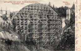"""SUISSE -NIEDER-TEUFEN -- """"Canton D'APPENZELL""""  -Gmündertobelbrücke-. - AR Appenzell Rhodes-Extérieures"""