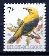 BELGIE * Buzin * Nr 2476 * Postfris Xx * FLUOR  PAPIER - GROENE GOM - 1985-.. Birds (Buzin)