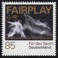 3308 Für Den Sport - Fechten / Fairplay, ** - BRD