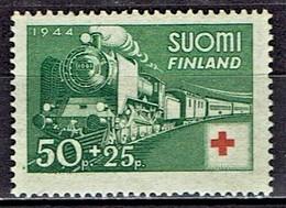 Finnland / Finland - Mi-Nr. 278 Postfrisch / MNH ** (E991) - Eisenbahnen