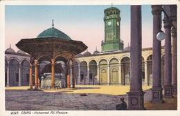 EGYPTE. CAIRO. MOHAMED ALI MOSQUE. LEHNERT & LANDROC. CPA CIRCA 1900s - BLEUP - Cairo