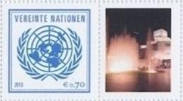 2013 - O.N.U. / UNITED NATIONS - VIENNA / WIEN - FRANCOBOLLI DA FOGLIO DI FRANCOBOLLI PERSONALIZZATI - DOHA 2015. MNH - Nuovi