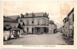 49 FONTEVRAULT - La Rue Principale - Other Municipalities