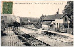 78 SAINT-NOM-la-BRETECHE - Gare De Saint-Nom - Foret De Marly - St. Nom La Breteche