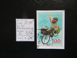"2018  "" Postcrossing "" Auf Ausschnitt, Gestempelt   LOT 356 - Ungarn"