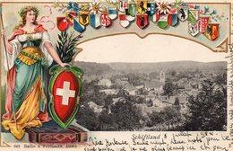 SUISSE -'Schöftland'  -- (Armoiries) - VD Vaud