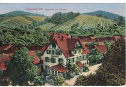 Alte AK Neuweier Gasthaus Zur Traube - Sonstige