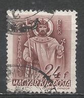 Hungary 1941. Scott #586 (U) St. Stephen * - Oblitérés