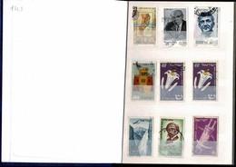 Album De 142 Timbres D'ISRAËL Non Classés Dans Un Petit Album: 17/12 Cm. Quelques Timbres En Plusieurs Exemplaires - Collections (en Albums)