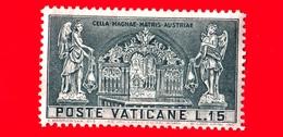 Nuovo - VATICANO - 1957 - 800 Anni Del Santuario Di Mariazell - Altare Nel Santuario Di Mariazell - 15 - Nuevos
