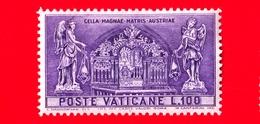 Nuovo - VATICANO - 1957 - 800 Anni Del Santuario Di Mariazell - Altare Nel Santuario Di Mariazell - 100 - Nuevos