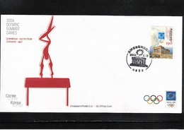 South Korea 2004 Olympic Games Athens FDC - Verano 2004: Atenas