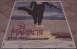 AFFICHE CINEMA ORIGINALE FILM EL MARIACHI + JEU 6 PHOTOS EXPLOITATION RODRIGUEZ MEXIQUE 1992 TBE - Affiches & Posters