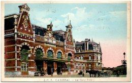 59 CAMBRAI - La Gare Ville - Cambrai