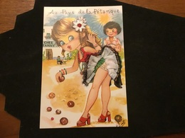 Pétanques Illustrateur Humoristique Fanny - Bowls