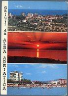 °°° Cartolina N. 495 Saluti Da Alba Adriatica  Viaggiata °°° - Teramo