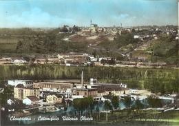1429/FG/19 - CUNEO - CLAVESANA: Panorama Con Cotonificio Vittorio Olcese - Cuneo