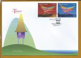 Untaet - United Nations Transitional Administration In East Timor. Timor Lorosae. East Timor. Timor Leste. Vey Raro. - Timor Oriental