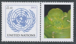 2013 - O.N.U. / UNITED NATIONS - NEW YORK - 40mo ANNIVERSARIO DI CITES / 40th ANNIVERSARY OF CITES. MNH - New York - Sede Centrale Delle NU