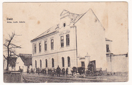 Vanyola Csót Veszprém Schule 1910 Pápa Poppa - Hongrie