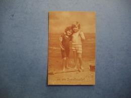 Edition Raphael TUCK  -  Carte Photo Jeunes Enfants à La Plage   -  We Are Sweethearts !  - - Autres