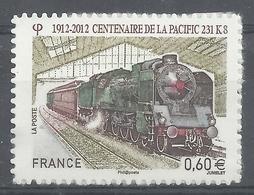 France, Locomotive, Pacific Type, 2012, MNH VF Self-adhesive Stamp - Unused Stamps