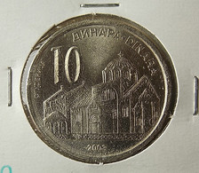 Serbia 10 Dinara 2003 Varnished - Serbia