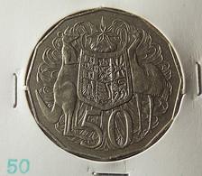 Australia 50 Cents 1969 Varnished - Moneda Decimale (1966-...)