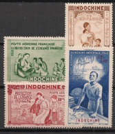 Indochine - 1938-41 - Poste Aérienne PA N°Yv. 20 à 23 - PEIQI - Série Complète - Neuf Luxe ** / MNH / Postfrisch - Indochina (1889-1945)