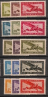 Indochine - 1942-44 - Poste Aérienne N°Yv. 24 à 38 - Série Complète - Neuf Luxe ** / MNH / Postfrisch - Indochina (1889-1945)