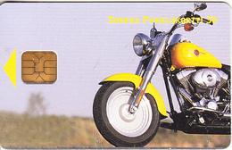 FINLAND - Motorbike, Yellow Dream, Sonera Telecard, Tirage 30000, 04/01, Used - Motorbikes