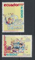 °°° ECUADOR - Y&T N°1225/26 - 1991 MNH °°° - Ecuador