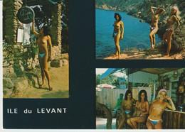 C. P. -  PHOTO - ÎLE DU LEVANT - 16.79 - 3 VUES - - Otros Municipios