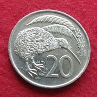 New Zealand 20 Cents 1977 KM# 36.1  Nova Zelandia Nuova Zelanda Nouvelle Zelande - New Zealand