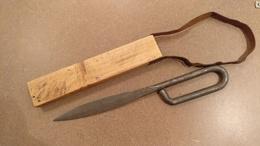 Rare Clou Français 1ère Guerre 14 18 WW1 Couteau De Tranchée - Armes Blanches