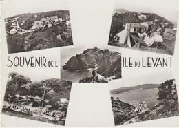 C. P. -  PHOTO - SOUVENIR DE L'ÎLE DU LEVANT -  5 VUES - 8884 - DROSSOS - MAR - Francia