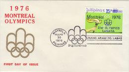PHILIPPINES 1976 Olympics Montreal.Bargain.!! - Filippijnen