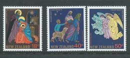 New Zealand 1985 Christmas Set Of 3 MNH - New Zealand
