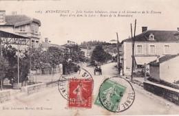 ANDREZIEUX       ROUTE DE LA RENARDIERE - Andrézieux-Bouthéon