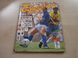 Album PANINI   CALCIATORI   1994/1995 Contenant 8 Autocollants NON Collés - Albums & Catalogues