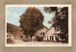 CPA - SERVANCE (70) -.Thème : Arbre - Aspect Du Tilleul Et De L'Hôtel Du Tourisme Dans Les Années 30 - Autres Communes