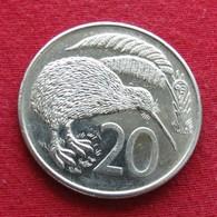 New Zealand 20 Cents 1985 KM# 36  Nova Zelandia Nuova Zelanda Nouvelle Zelande - Nouvelle-Zélande