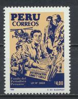 °°° PERU - Y&T N°883 - 1988 MNH °°° - Perù