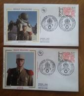Premier Jour  FDC.. 1984 ..legion  Etrangere .paris .. Aubagne - Other