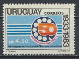 °°° URUGUAY - Y&T N°1137 - 1984 MNH °°° - Uruguay