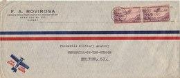 CUBA 1945 Cover To USA.BARGAIN.!! - Cuba